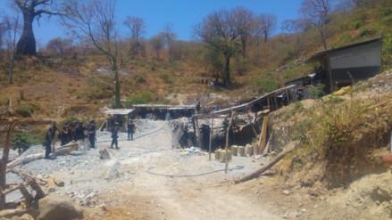 Incautan enseres por más de S/. 2 millones empleados en minería ilegal