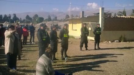 Huancayo: hallan bombas caseras durante conflicto por terreno