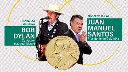 Estos son los ganadores del Premio Nobel 2016