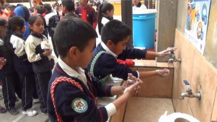 Cajamarca: niños participaron del día mundial de lavado de manos