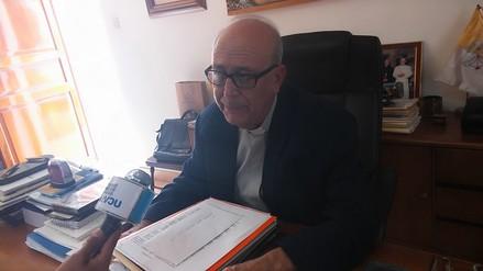 Obispo señala que Enrique Vargas no está capacitado para conducir la región