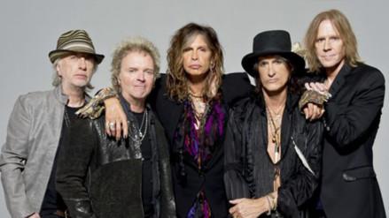 Aerosmith anuncia banda soporte para su concierto en Lima