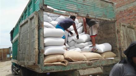 Chiclayo: recuperan cargamento de 500 quintales de café robado en Jaén