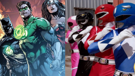 Justice League: Power Rangers aparecerán en el cómic