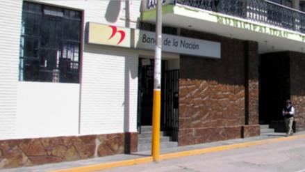 Asaltan Banco de la Nación de Canta y capturan a cuatro ladrones