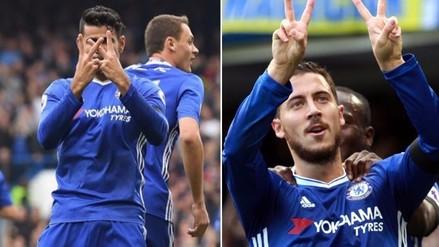 Chelsea 3-0 Leicester: jugadores dedicaron triunfo a Willian tras muerte de su madre