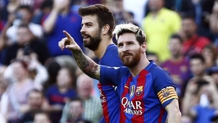 Con la vuelta de Messi: Barcelona goleó 4-0 a Deportivo La Coruña