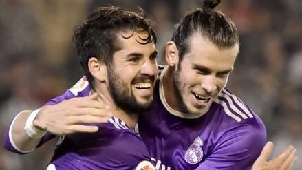 Real Madrid goleó 6-1 al Real Betis y volvió a la punta de la Liga Santander