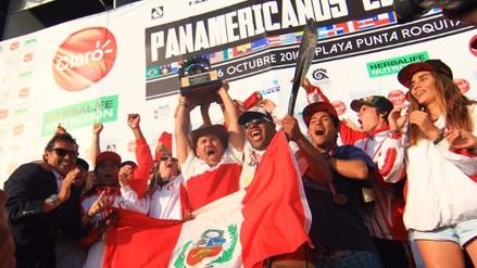 Perú logró el bicampeonato por equipos en los Juegos Panamericanos de Surf