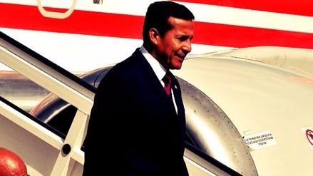 Ollanta Humala regresó de su viaje a España