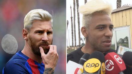 Alexi Gómez no quiere que comparen su look con el de Lionel Messi