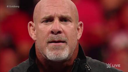 Goldberg aceptó el reto y peleará con Brock Lesnar en Survivor Series
