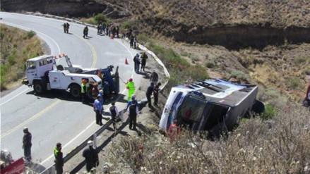 Tres muertos dejó choque entre ómnibus y camión en Cañete