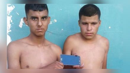 Chiclayo: Policía recupera moderno celular y detiene a ladrones