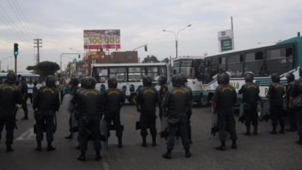 Paro en Trujillo: transportistas exigen liberar a gerentes