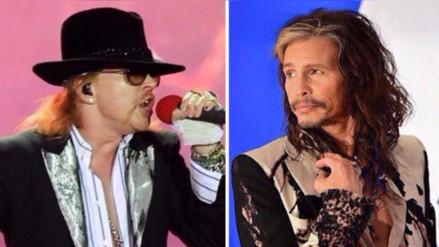Integrantes de Guns N' Roses podrían asistir al concierto de Aerosmith