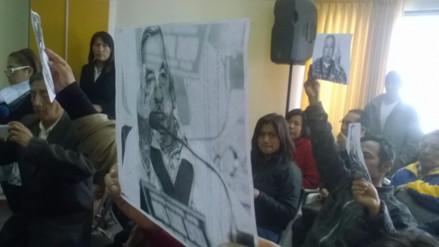 Huancayo: periodistas protestan durante consejo regional