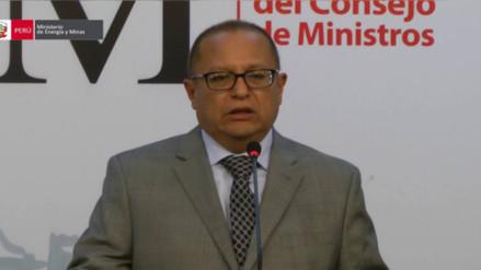 Ministro de Energía y Minas Gonzalo Tamayo no viajó a Las Bambas