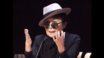 Yoko Ono inaugura su primera exposición artística en Estados Unidos