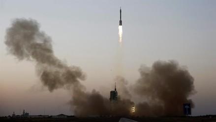 La cápsula espacial china se acopló al laboratorio espacial Tiangong-2