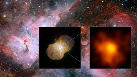 Captan choques de viento en el sistema estelar Eta Carinae