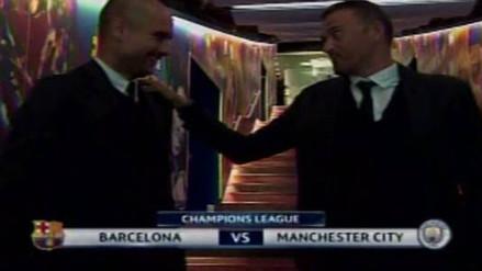 Pep Guardiola se hizo el que no conocía a Luis Enrique en la Champions League