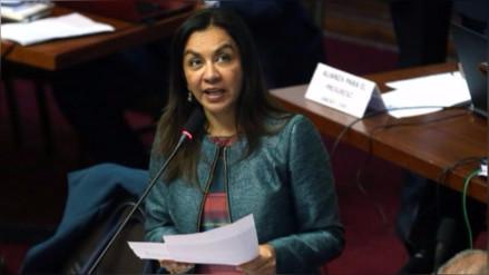 Marisol Espinoza pide seriedad y objetividad en la investigación a Heredia
