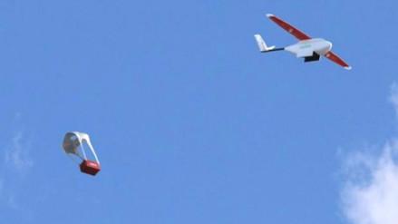 Lanzan el primer sistema de reparto de sangre y medicamentos con drones