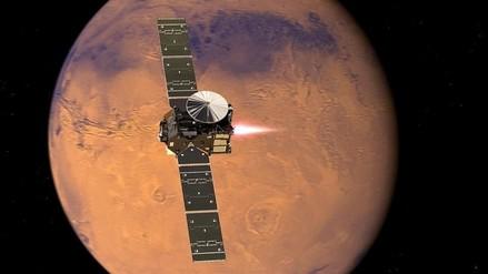 La ESA no sabe si el módulo Schiaparelli sobrevivió el aterrizaje en Marte