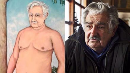 """Mujica sobre su retrato desnudo: """"Las cosas tienen un límite"""""""