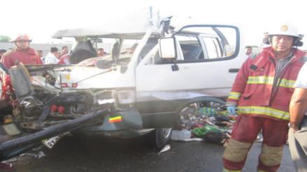 Piura: muere regidor tras choque en carretera Paita - Sullana