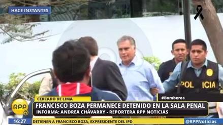 Francisco Boza, expresidente del IPD, fue trasladado a la Sala Penal