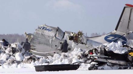 Al menos 19 muertos dejó accidente de helicóptero ruso en Siberia