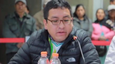 Huancayo: regidor se disculpa por frase discriminatoria durante sesión
