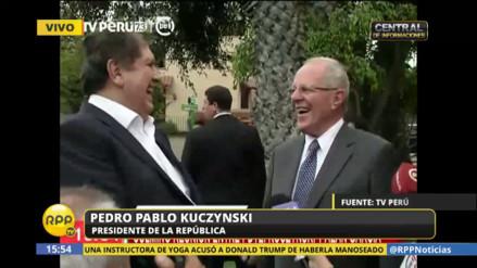 PPK tras cita con Alan García: