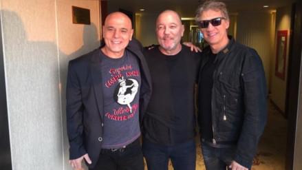 Soda Stereo y Rubén Blades se tomaron una foto histórica en Lima