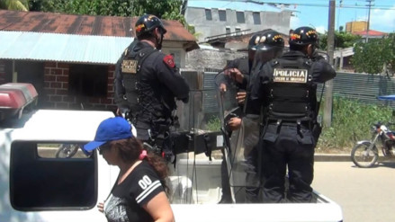 Cañete: policía realiza operativos para enfrentar la delincuencia