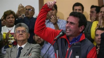 """Capriles: """"El próximo miércoles vamos a tomar Venezuela de punta a punta"""""""