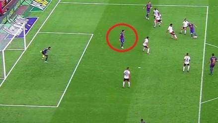Lionel Messi enciende la polémica por este gol al Valencia