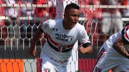 No para de festejar: Christian Cueva es titular y anotó su sexto gol con Sao Paulo