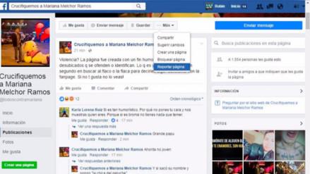 Un grupo de Facebook genera rechazo por pedir que se crucifique a una mujer
