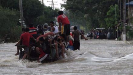 El tifón Haima deja por lo menos dos millones de damnificados en China