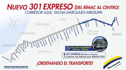 El Corredor Azul contará con 18 nuevos buses en sus rutas