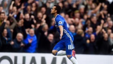 Chelsea golea al Manchester United en Stamford Bridge