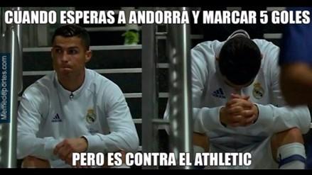 Cristiano Ronaldo protagoniza memes debido a su sequía goleadora en Liga
