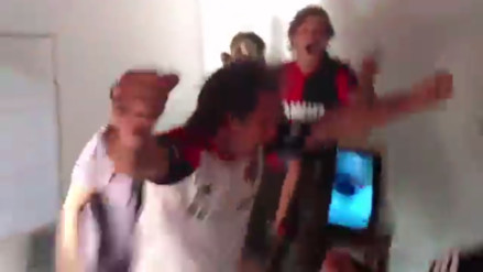 Hinchas de Newell's Old Boys 'vaticinaron' gol frente a Rosario Central