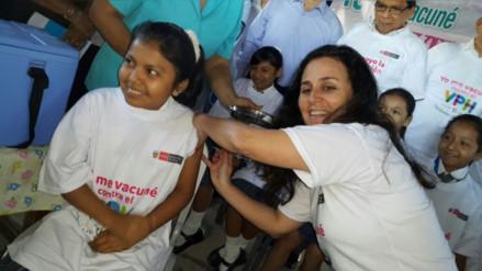 Piura: más de 25 mil niñas serán vacunadas contra el VPH