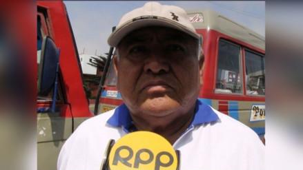 Trujillo: suspenden paro de transportes de 48 horas