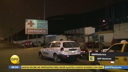 Delincuentes asesinaron a un 'marca' dentro del Hospital Sergio Bernales