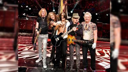 Integrantes de Aerosmith ya están en Lima